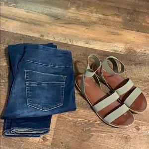 Rock & Republic pull on jean leggings